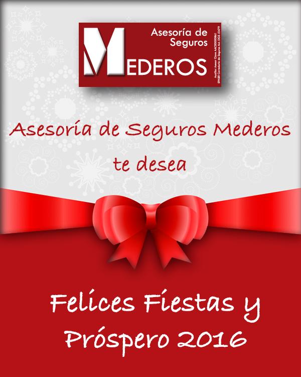 Felicitación Navideña 2016 Seguros Mederos